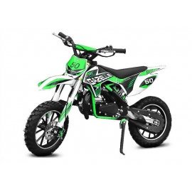 "Dirt bike enfant Gazelle 49cc 10"" e-start"
