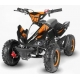 "Quad Python Deluxe 49cc 6"" Tri-Couleur e-start"