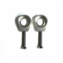 Tendeurs de chaîne alu rond - 15/6mm - Silver
