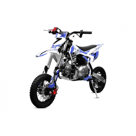 "Dirt Bike Ado Gepard Dorado 110cc 10-10"" e-start semi-auto"