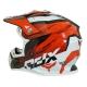 Casque Moto Cross ADX MX2 version rouge