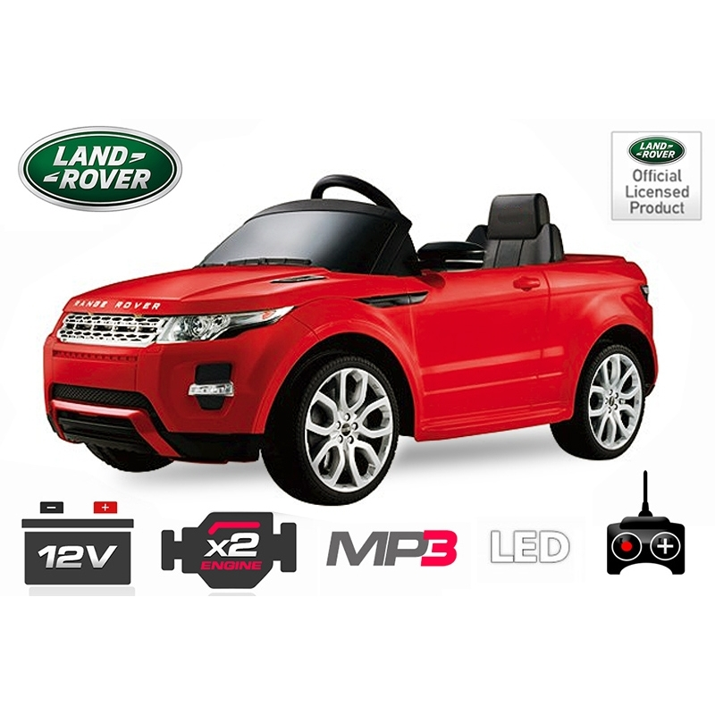 land rover evoque electrique enfant 2x25w btc motors. Black Bedroom Furniture Sets. Home Design Ideas