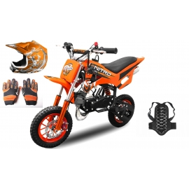 Dirt bike enfant DS67 + Pack protections
