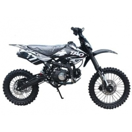"DB17 125cc 17"" Dirt Bike ado 14 ans et plus"