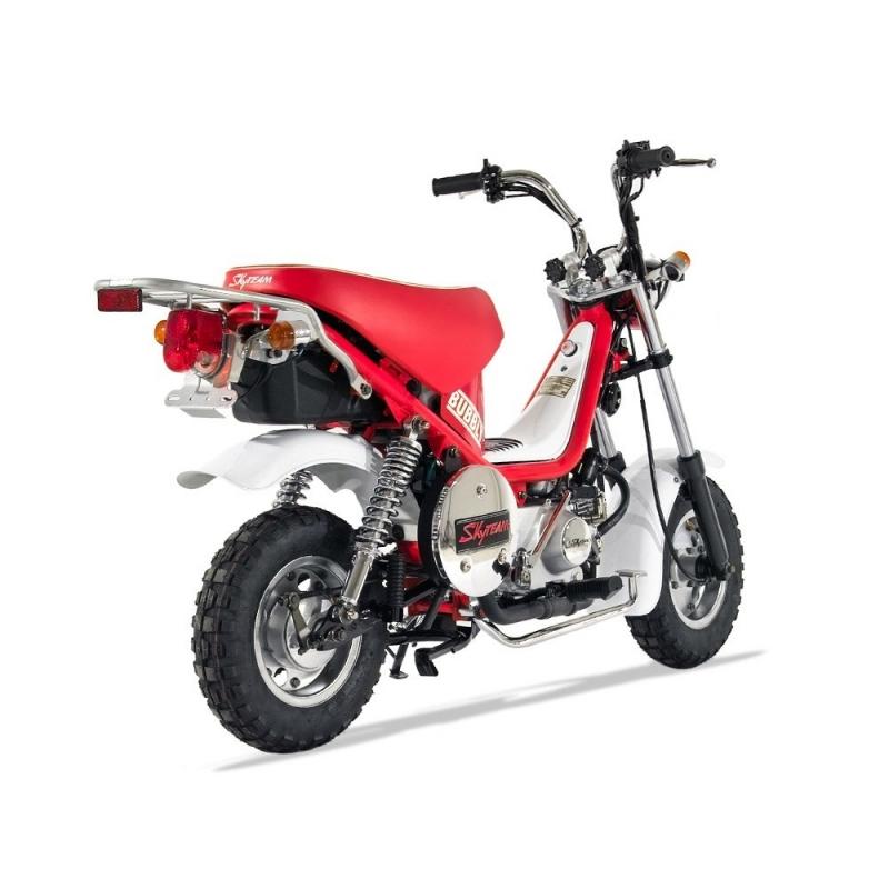 bubbly 50cc semi automatique moto homologable. Black Bedroom Furniture Sets. Home Design Ideas