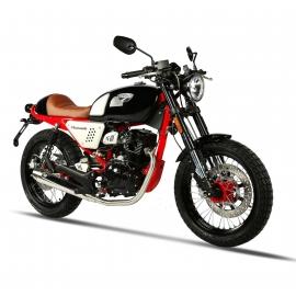 Masai Black Cafe 125cc Euro 4 Moto Homologuée