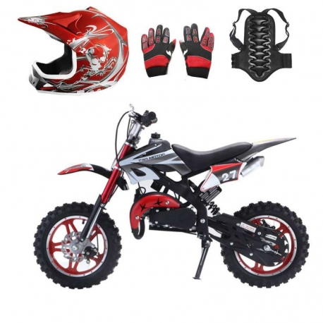 "Pack Apollo 49cc 10"" + Protections"