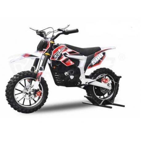 Dirt Bike Cheetah Deluxe électrique 500W plomb