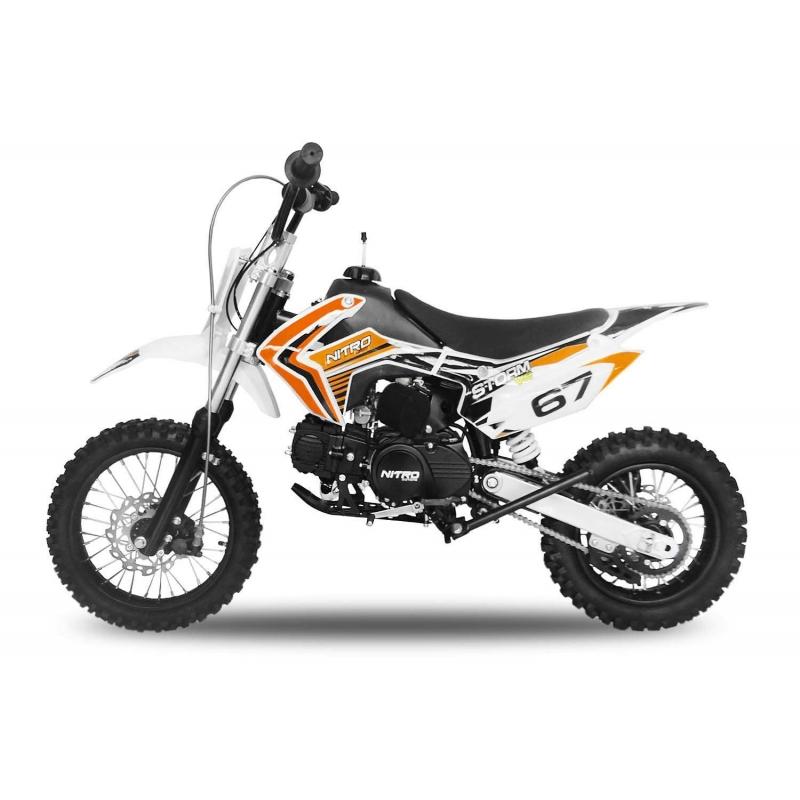 Dirt Bike Ado Storm 125cc Manuelle Livraison Gratuite