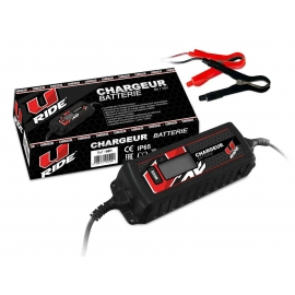 Chargeur de Batterie pour Quad Homologué, Moto et Scooter