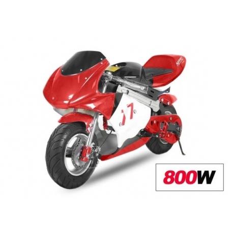 pocket bike 800w electrique btc motors. Black Bedroom Furniture Sets. Home Design Ideas