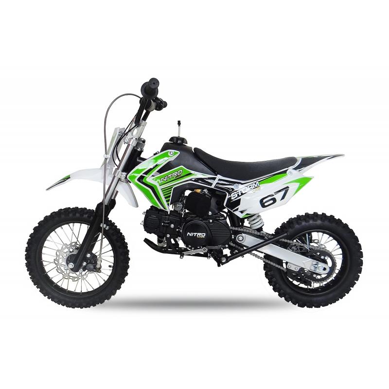 Pneu D Hiver Date >> Moto-Cross 110cc STORM, Automatique - BTC Motors