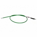 Câble d'embrayage en prise - 1020mm - Vert
