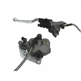 Kit frein avant - Double piston - Gris