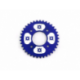 Couronne 420 - 58mm - 37 Dents - Alu - Bleu
